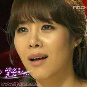 Ok Ju Hyun ร้องไห้ผ่านจอทีวีในรายการ I Am A Singer