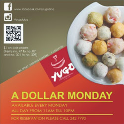 YUGO BBQ and SHABU A Dollar Monday!