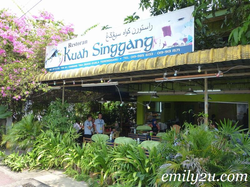 Restoran Kuah Singgang, Kuala Terengganu