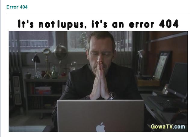 Creativas y originales páginas de error 404