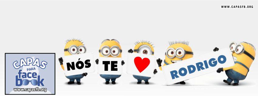 Capas para Facebook Rodrigo
