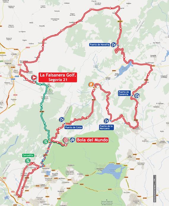 La Vuelta 2012. Etapa 20. La Faisanera Golf – Bola del Mundo. @ Unipublic