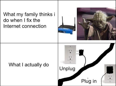 Fixing Internet Connection (Reality) :D