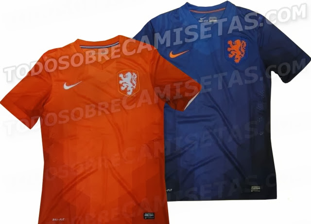 Netherlands Home Kit 2014 World Cup – Leaked
