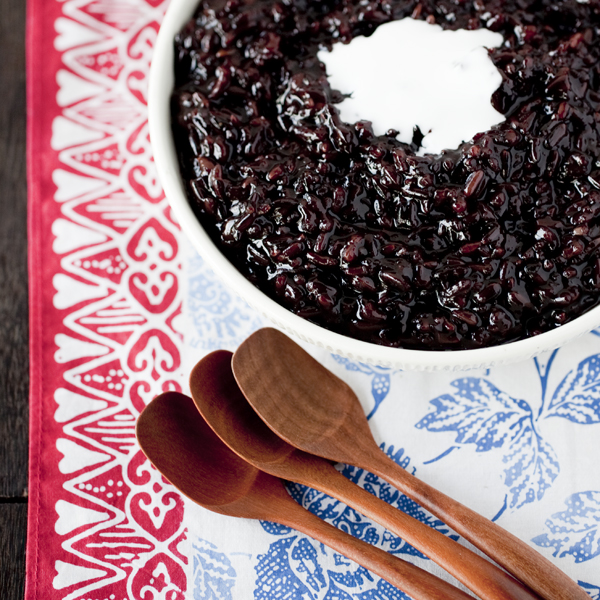 Yummy Supper : BLACK RICE PUDDING
