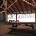Hobart Beach camping area shelter (105127)