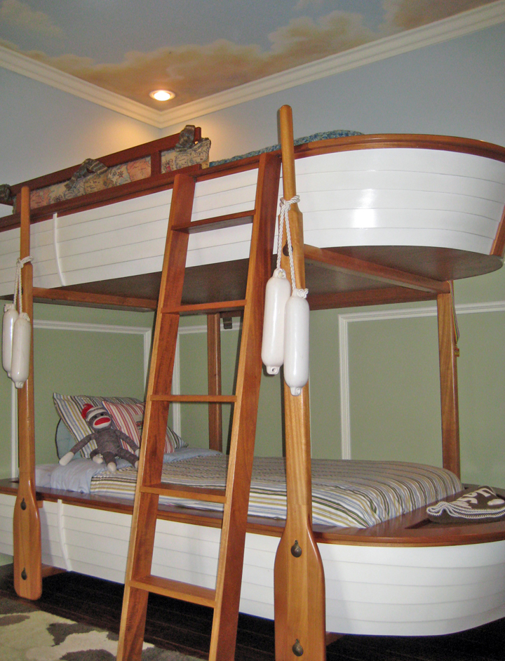 How RAD Is This Bunk Bed Short Of Actually Being SeaworthyI Think Might Be As Close It Gets To Sleeping Aboard A Boat