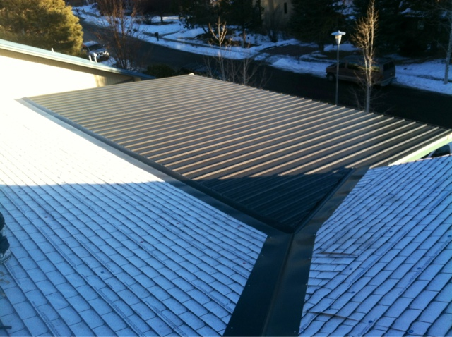 Xquisite Custom Homes Inc Metal Roof Grand Rib 3