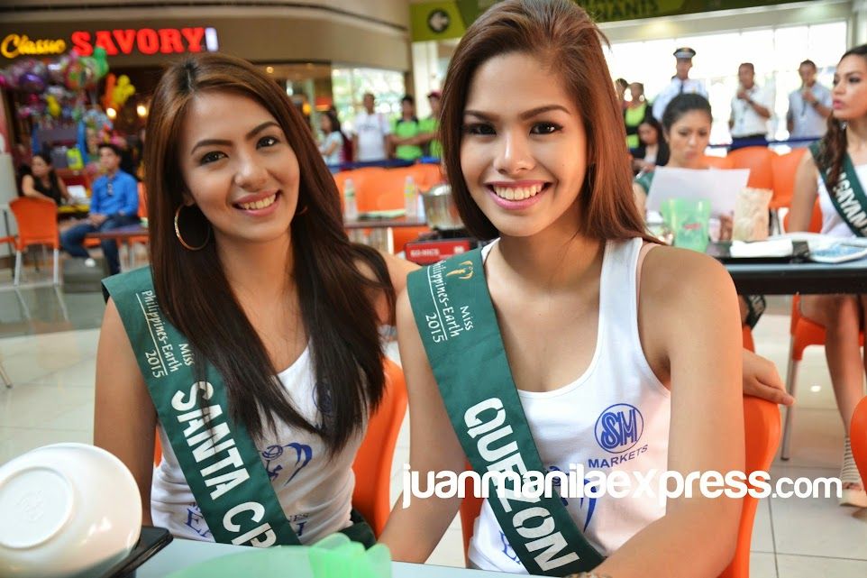MISS PHILIPPINES EARTH 2015 CANDIDATES.
