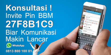 Konsultasi invite Pin BBM 27F8B1C9 Biar Komunikasi Lebih Lancar
