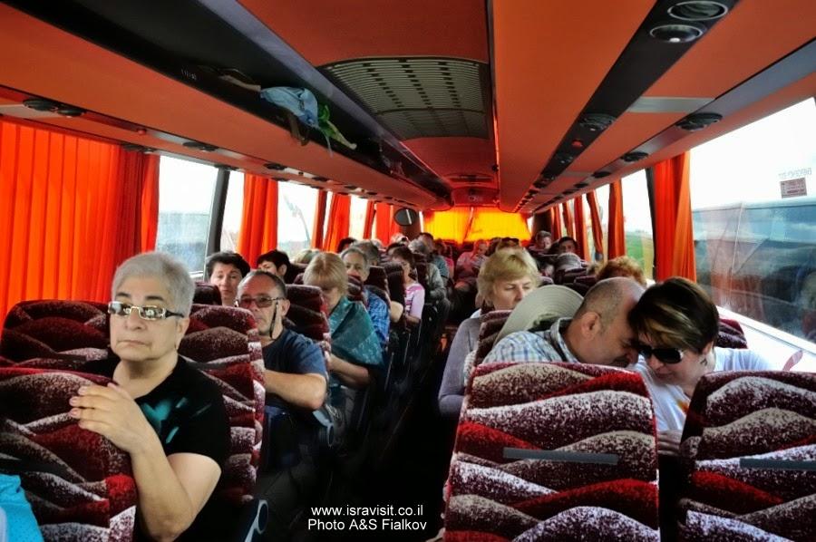 На экскурсии с гидом по Верхней Галилеи Светланой Фиалковой