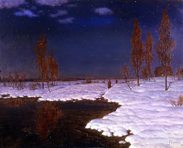 Ivan Fedorovich Choultse - Nuit de Mars, Russie