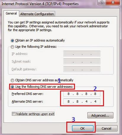 Cách cấu hình DNS để vào Facebook đơn giản 4