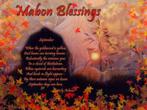 Menu For Mabon