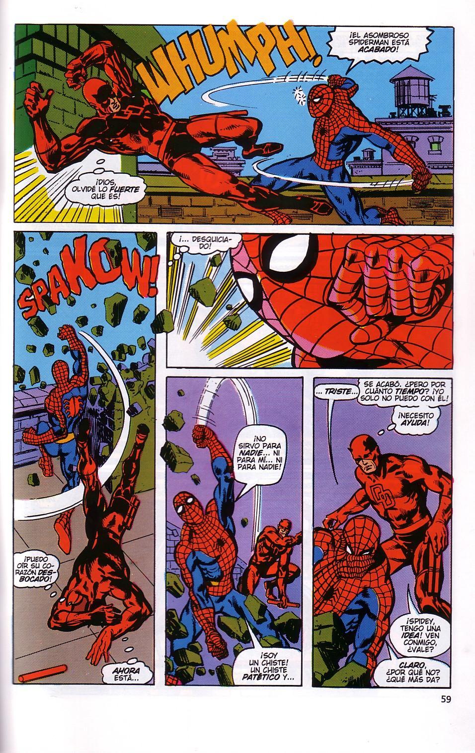 historieta de spiderman: