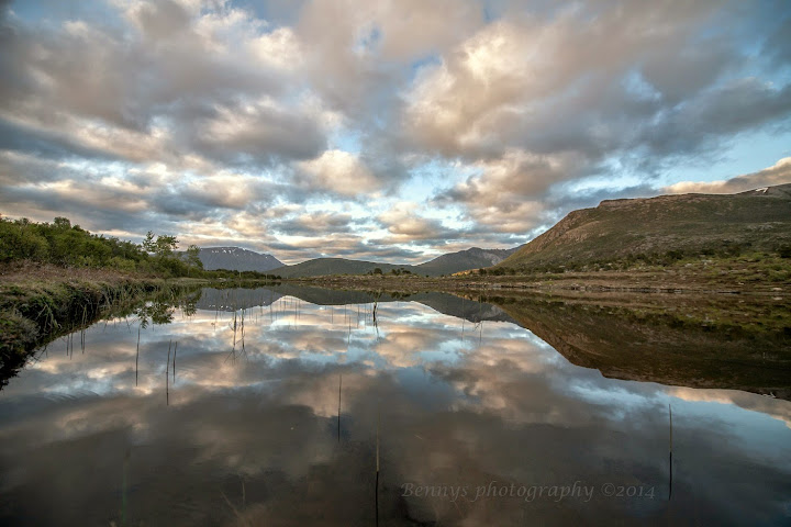 Summer Sunsets in Norway. Photographer Benny Høynes