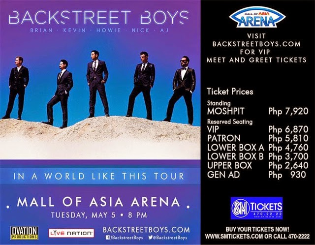 Backstreet Boys in Manila
