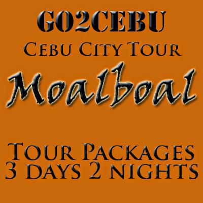 Cebu City + Moalboal Beach Adventure in Cebu Tour Itinerary 3 Days 2 Nights Package