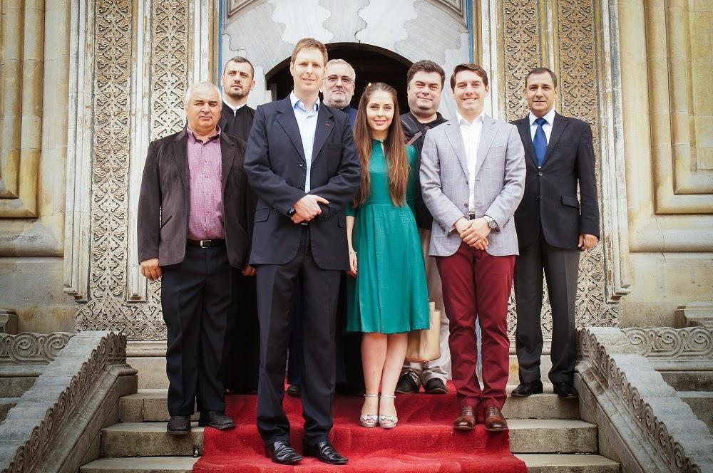 Principele Leka al II-lea al Albaniei a vizitat Mănăstirea Curtea de Argeș