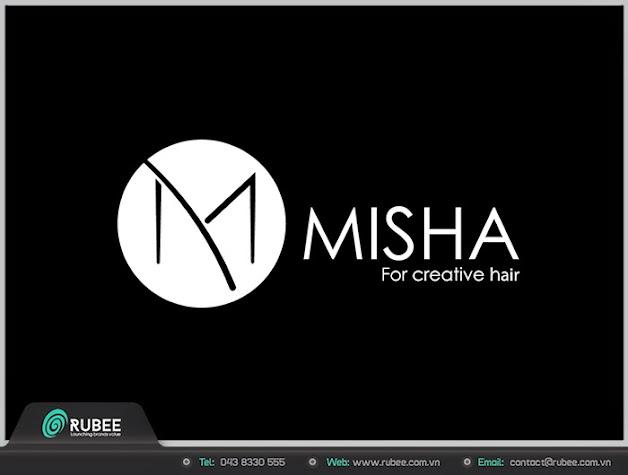 Logo thương hiệu Misha sản phẩm cho tóc 1 đẹp