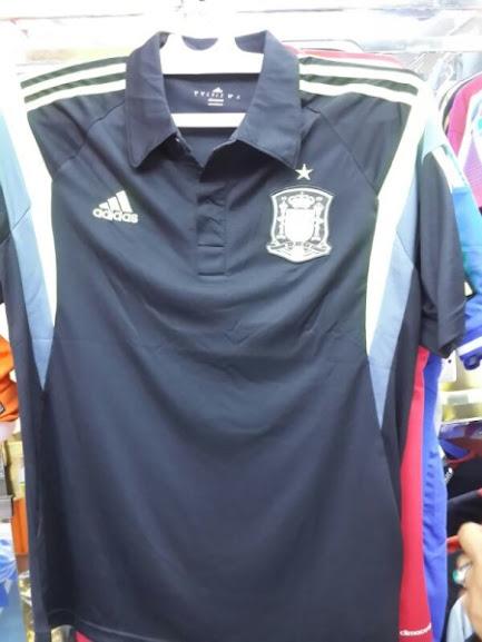 Jual Kaos Polo Spanyol Warna Dongker 2014