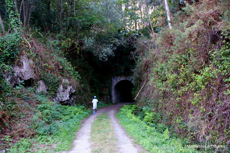 Ruta del Ferrocarril, Astúrias