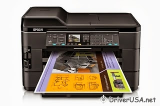 download Epson Workforce WF-7520 printer's driver