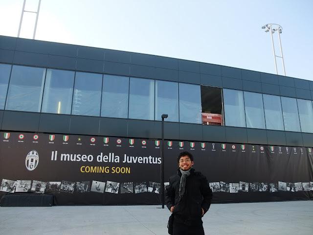 In Front Of Juventus Musesum