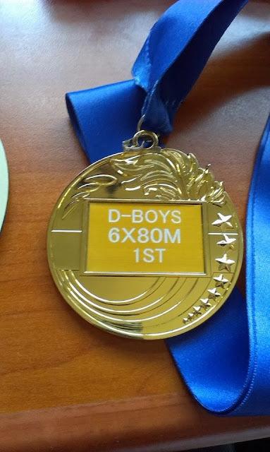Monkey Boy's Gold Medal