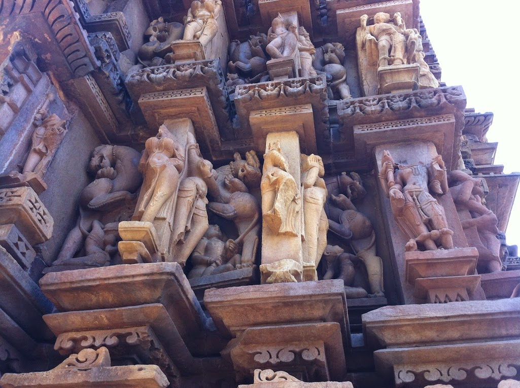 The Vyala of Khajuraho | mindblogging @ my will: a plethora
