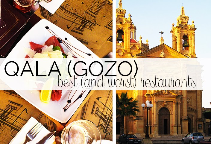 best restaurants of Gozo, where to eat in Malta, good restaurant Qala, ranking of the best restaurants of Gozo, what to do in Malta