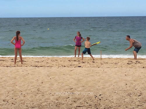 TeamBray beach Cricket