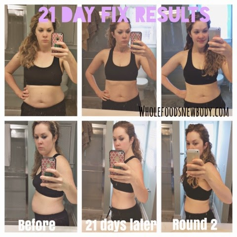 {21 Day Fix--Round 2} Results