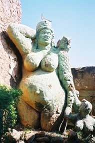 Goddess Nomkhubulwane Image