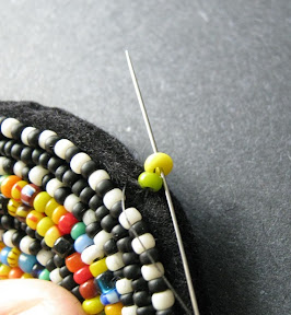 Embellishing with Square Stitch