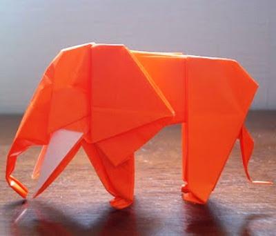 Origami Elephant 3 3d Make Easy Origami Instructions Kids