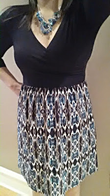 Gilli Auden Ikat Print Dress from my March 2015 Stitch Fix