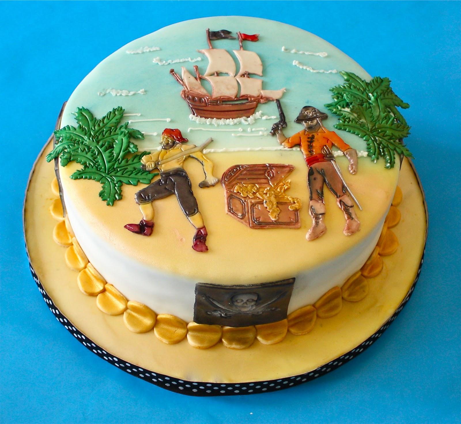 Картинка с пиратами на торт, год мише прикольный