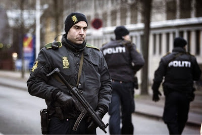 Copenhagen Wakes Up to New World Order as Police Cover City