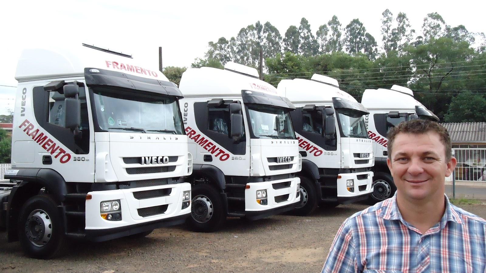 Transportes Framento aumenta sua frota com caminhões Iveco DSC00053