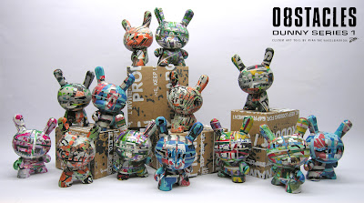 [O8STACLES] Custom Toy Series by Ryan the Wheelbarrow - 13 3 Inch Blind Box Dunnys