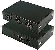 FireRepeater-800 Pro FireWire 800 IEEE 1394b Repeater Hub 4 Port