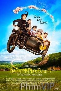Bảo Mẫu Phù Thủy Trở Lại - Nanny Mcphee Returns poster