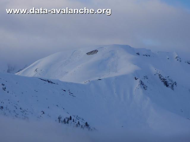 Avalanche Aravis, secteur Croisse Baulet - Photo 1