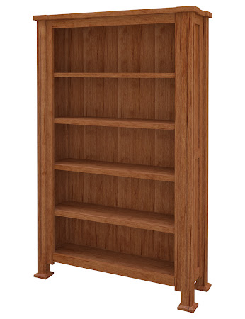 Sacramento Standard Bookshelf in Itasca Maple