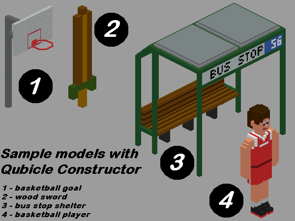 Qubicle Constructor sample models