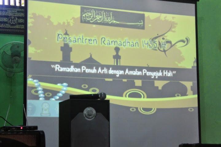 Pesantren Ramadhan 1435H