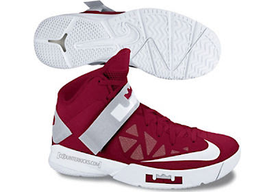 nike zoom soldier 6 tb gym red white 1 01 Nike Zoom LeBron Soldier VI (6)   Team Banks (Fall 2012)