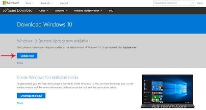 Sử dụng Windows 10 Update Assistant để nâng cấp Windows 10 mới nhất