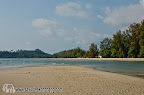 Reaching the middle of Klong Prao beach